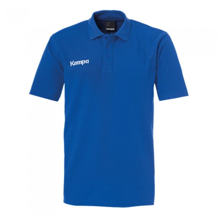 Kempa Kinder-Polo Shirt Classic royalblau