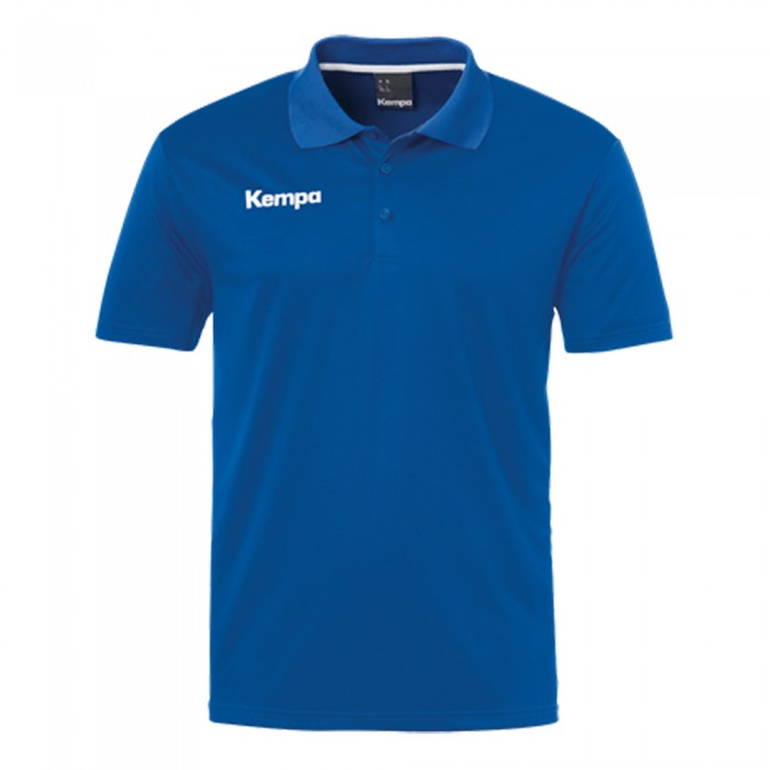 Kempa Poly Polo Shirt royalblau