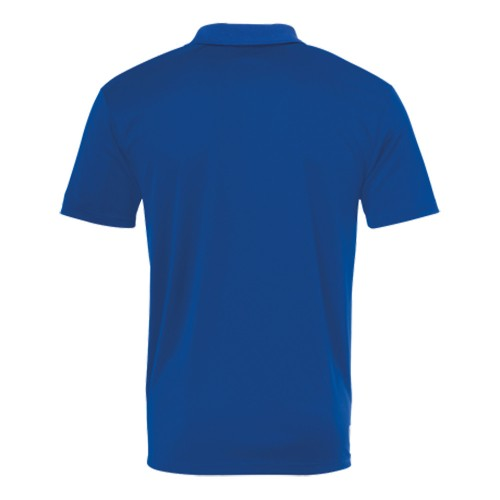 Kempa Kinder Poly Polo Shirt royalblau