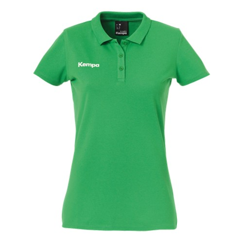Kempa Damen Polo Shirt grün