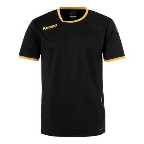 Kempa Handballtrikot Curve schwarz/gold