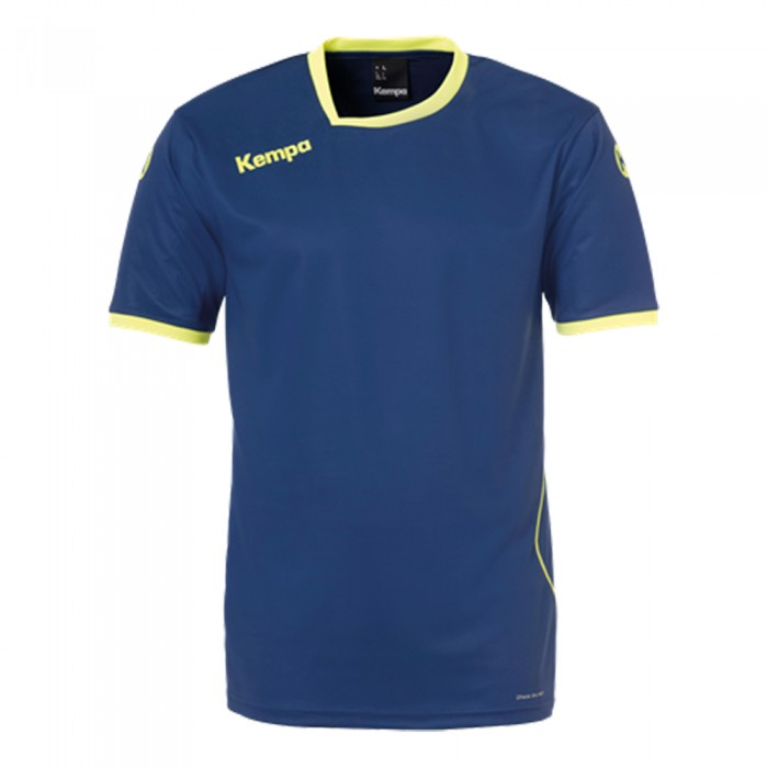 Kempa Handballtrikot Curve marine/neongelb