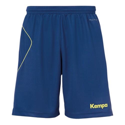 Kempa Kinder-Shorts Curve marine/neongelb