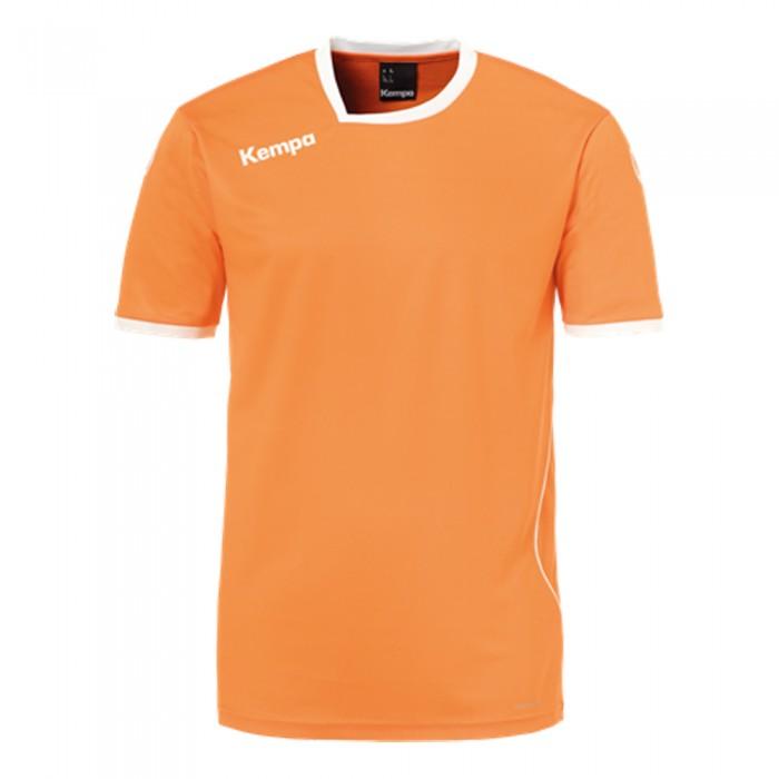 Kempa Handballtrikot Curve orange/weiß