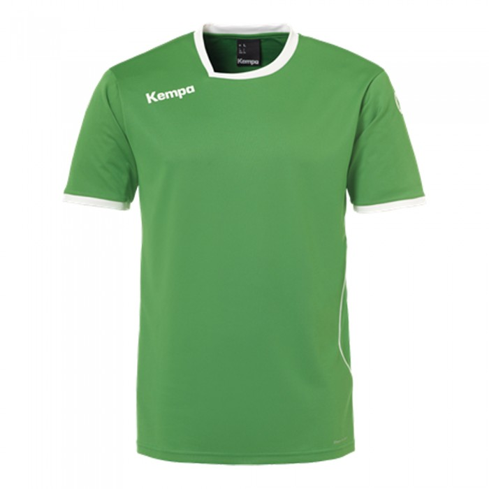 Kempa Kinder-Handballtrikot Curve grün/weiß
