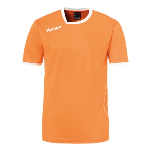 Kempa Curve Trikot Kinder orange/weiß