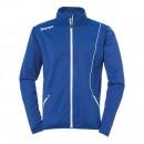 Kempa Curve Kinder-Trainingsjacke Classic royalblau/weiß