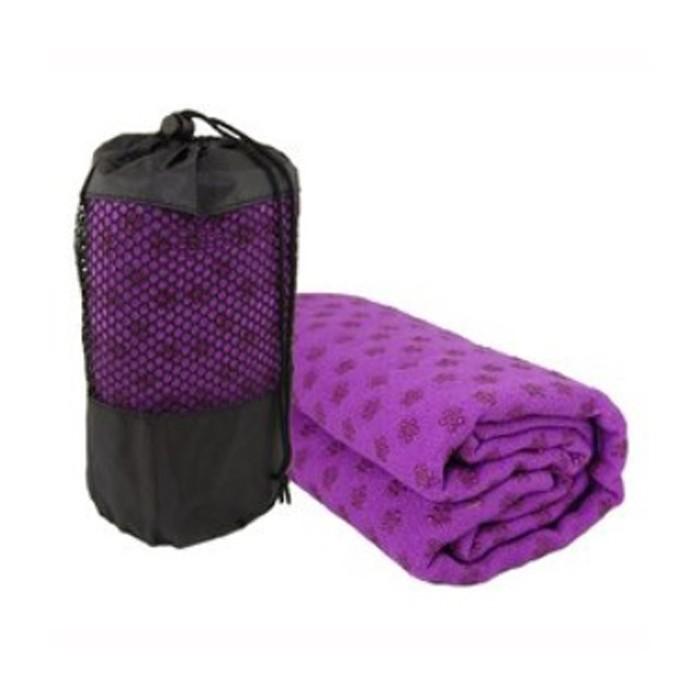V3Tec Yoga Handtuch lila