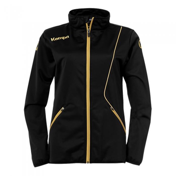 Kempa Curve Damen-Trainingsjacke Classic schwarz/gold