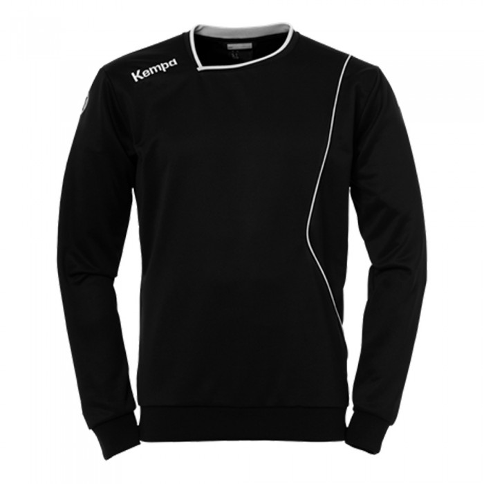 Kempa Curve Trainingssweatshirt schwarz/weiß