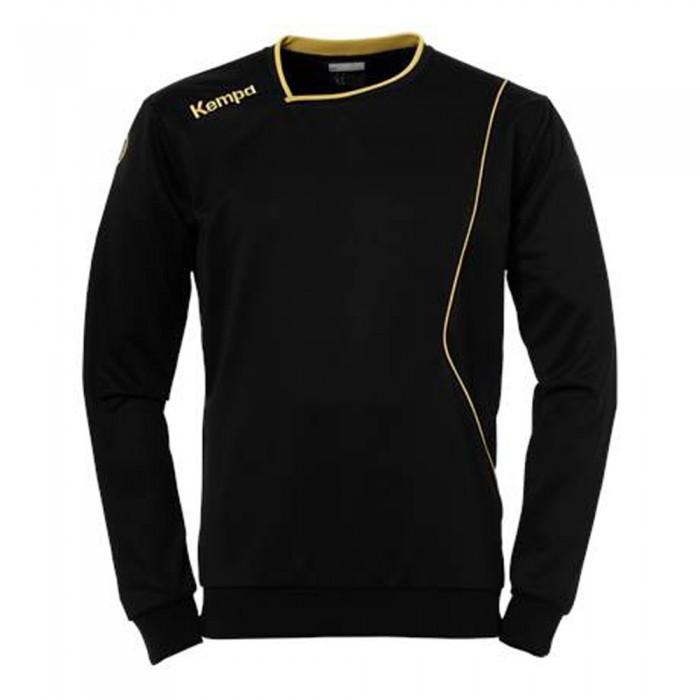 Kempa Curve Trainingssweatshirt schwarz/gold