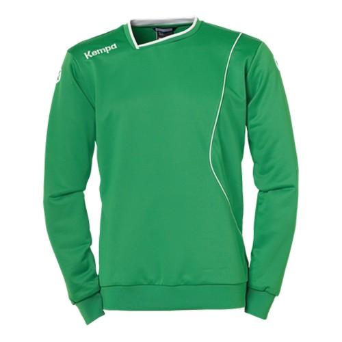 Kempa Curve Trainingssweatshirt grün/weiß