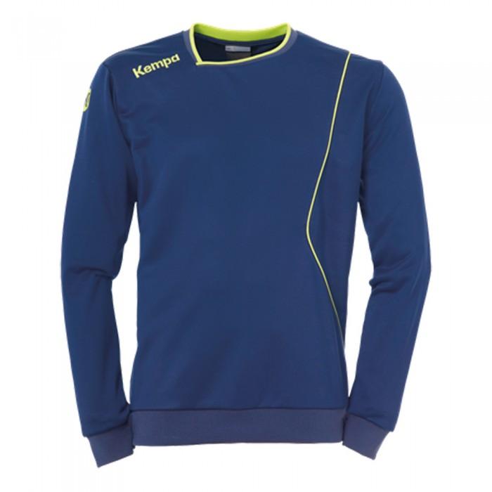 Kempa Curve Trainingssweatshirt rot/weiß
