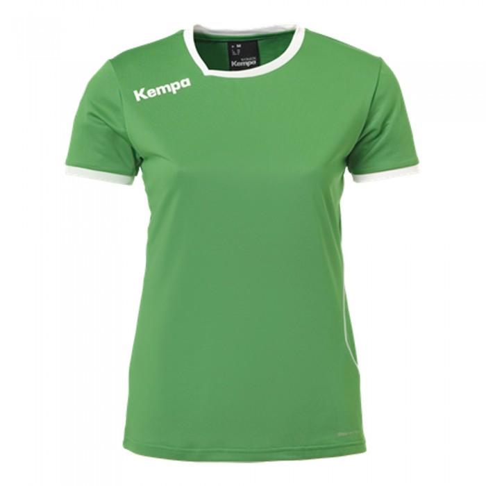 Kempa Curve Damen-Handballtrikot grün/weiß
