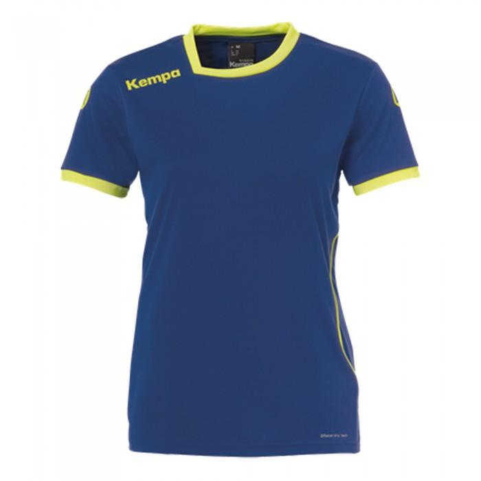 Kempa Curve Damen-Handballtrikot marine/neongelb