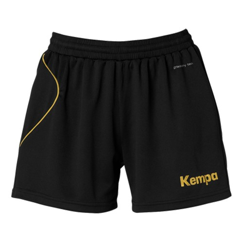 Kempa Curve women-Short black/gold