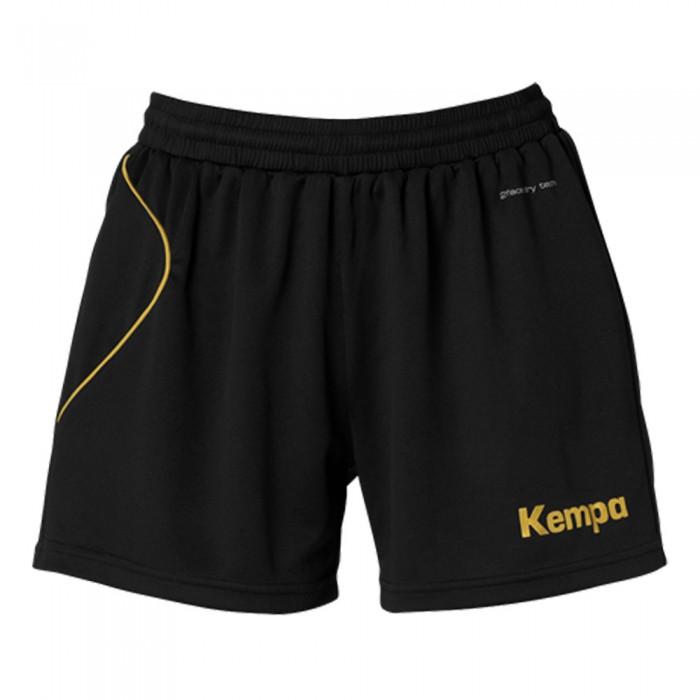 Kempa Curve Damen-Short schwarz/gold