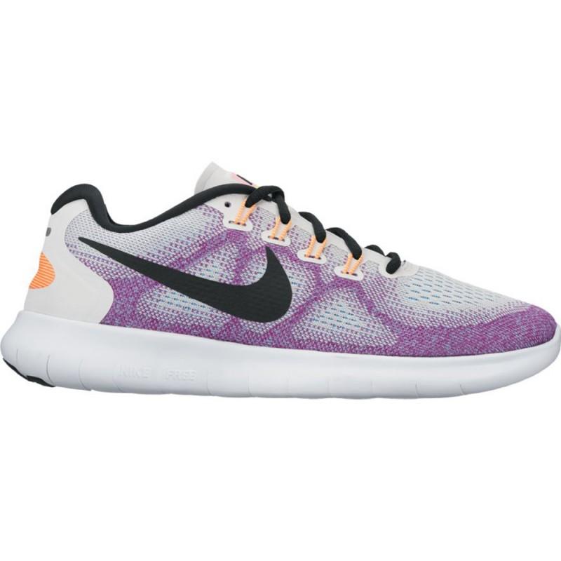 check out a492c c4a60 Nike Free RN 2017 Damen weißlila. Loading zoom