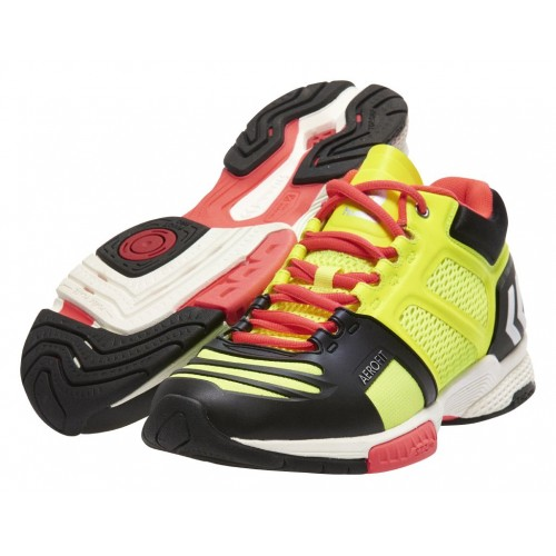 Hummel Handballshoes Aerocharge HB 220 Midcut yellow/black