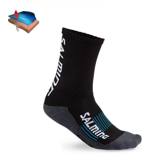 Salming Socken Advanced Indoor Sock weiß/grau