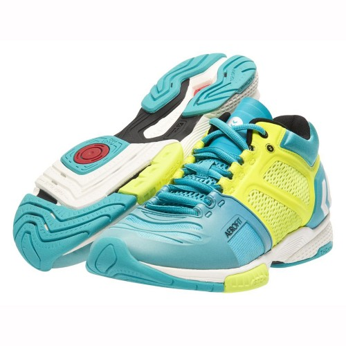 Hummel Handballshoes Aerocharge HB 220 Midcut mint/yellow
