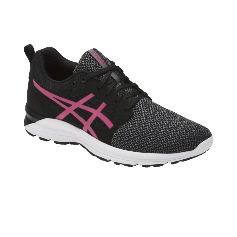 asics laufschuhe gel torrance damen schwarz grau pink. Black Bedroom Furniture Sets. Home Design Ideas
