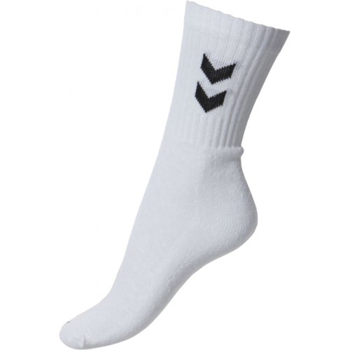 Hummel Trainings Socken 3er Pack  (Weiss)
