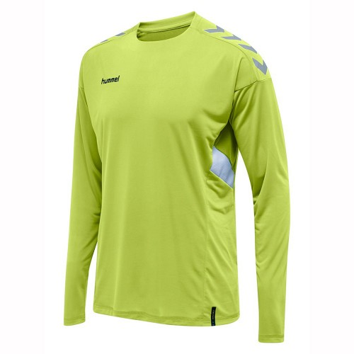 Hummel Tech Move ls Jersey neongreen