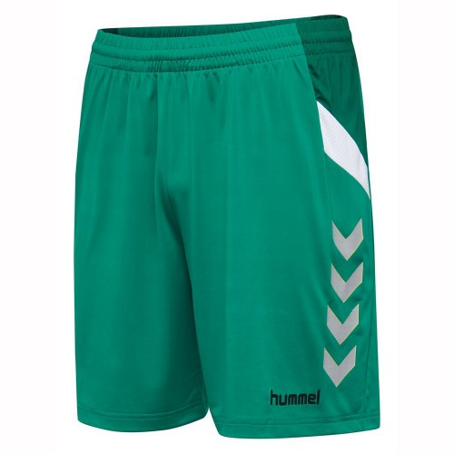 Hummel Tech Move Poly Short Kinder grün