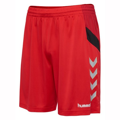 Hummel Tech Move Poly Short Kinder rot