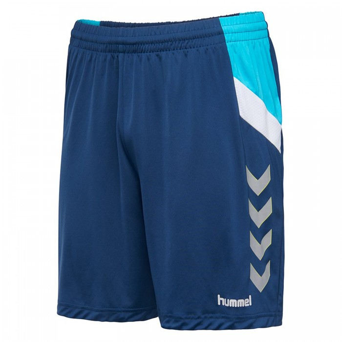 Hummel Tech Move Poly Short Kinder dunkelblau