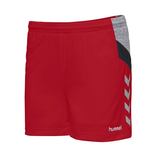 Hummel Tech Move Poly Short Damen rot