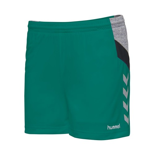 Hummel Tech Move Poly Short Damen grün
