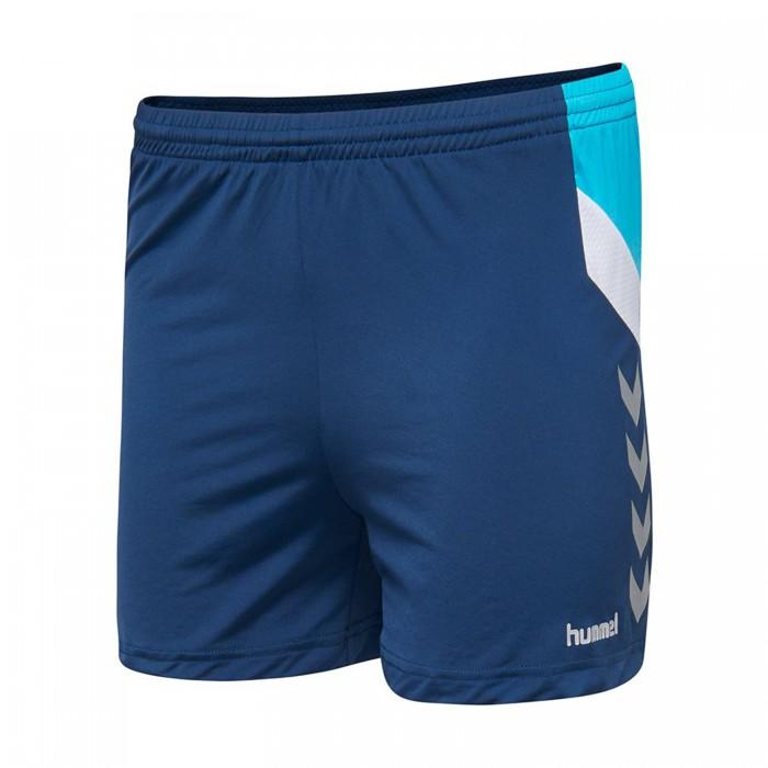 Hummel Tech Move Poly Short women dark blue