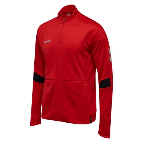 Hummel Tech Move Poly Zip Jacket red