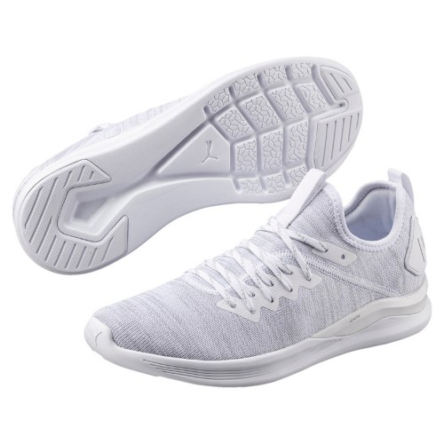 Puma leisure shoes Ignite Flash evoKnit white/lightgray