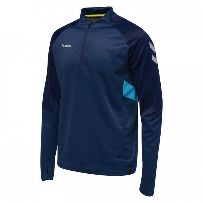 Hummel Tech Move ½ Zip Sweatshirt dunkelblau