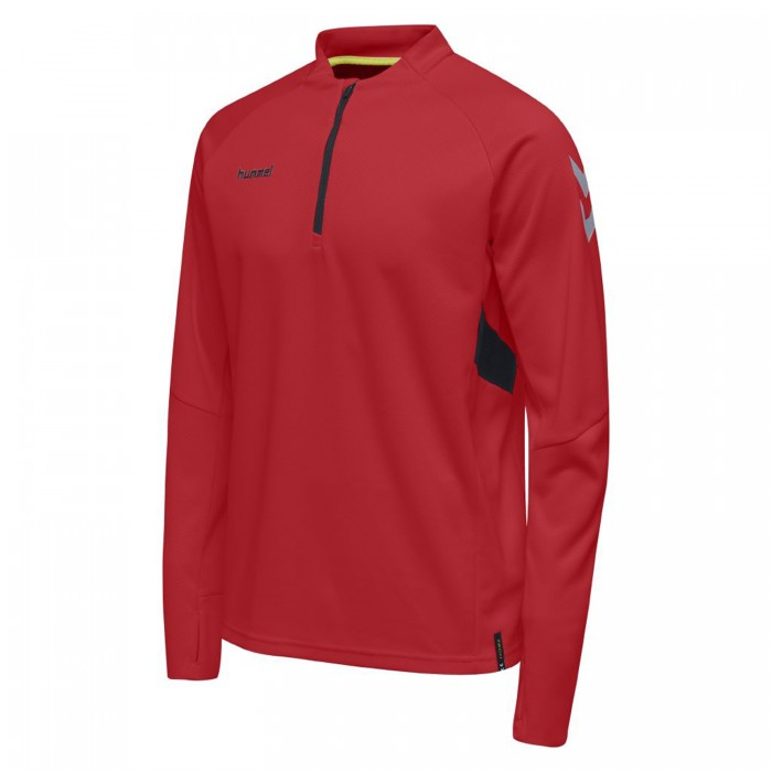 Hummel Tech Move ½ Zip Sweatshirt Kinder rot