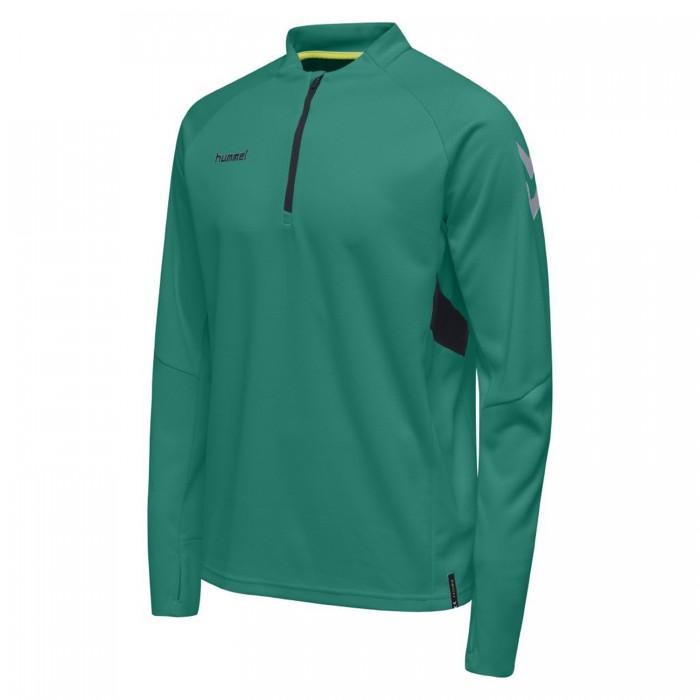 Hummel Tech Move ½ Zip Sweatshirt Kids green