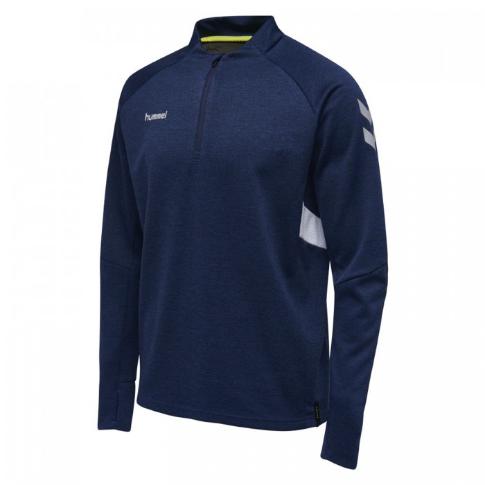 Hummel Tech Move ½ Zip Sweatshirt Kinder marine meliert