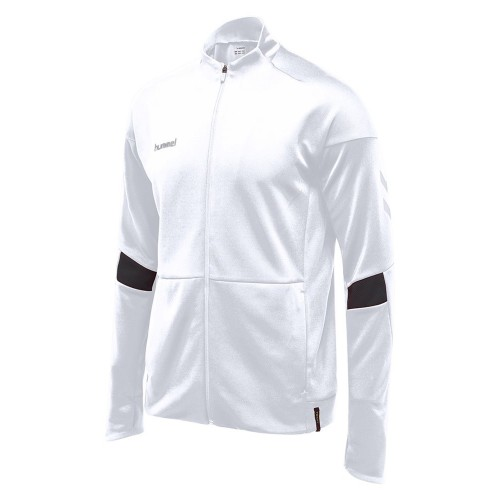 Hummel Tech Move Poly Zip Jacket white
