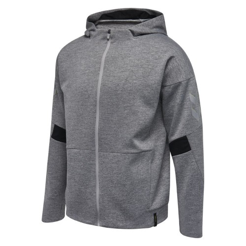 Hummel Tech Move Zip Hood grau