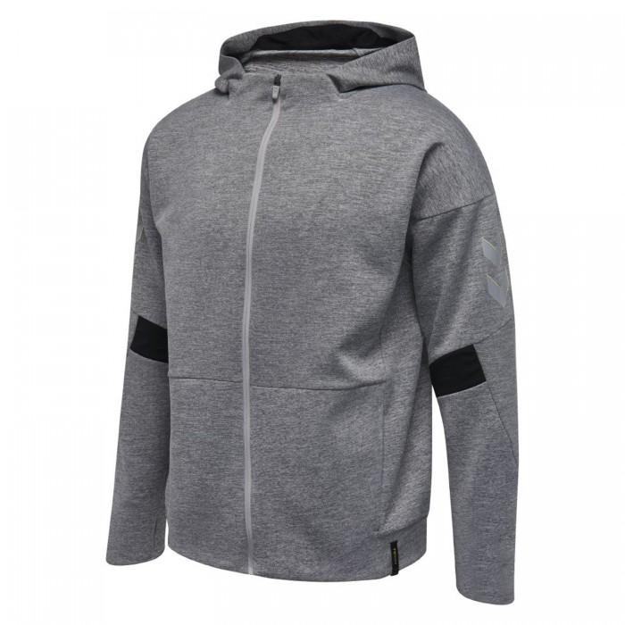 Hummel Tech Move Zip Hood gray