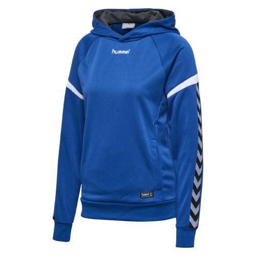 Hummel Authentic Charge Poly Hoodie Women royal