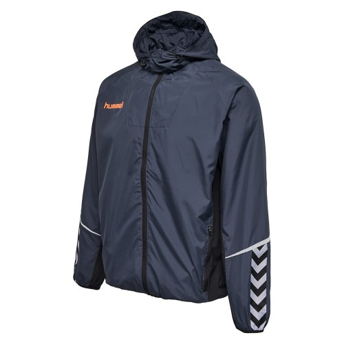 Hummel Authentic Charge Funktions-Jacke blaugrau