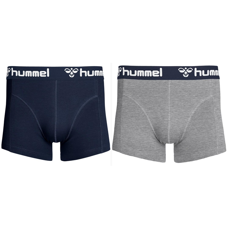Hummel Mars Boxershorts 2er Pack, L, Herren Herren 203-433-2667