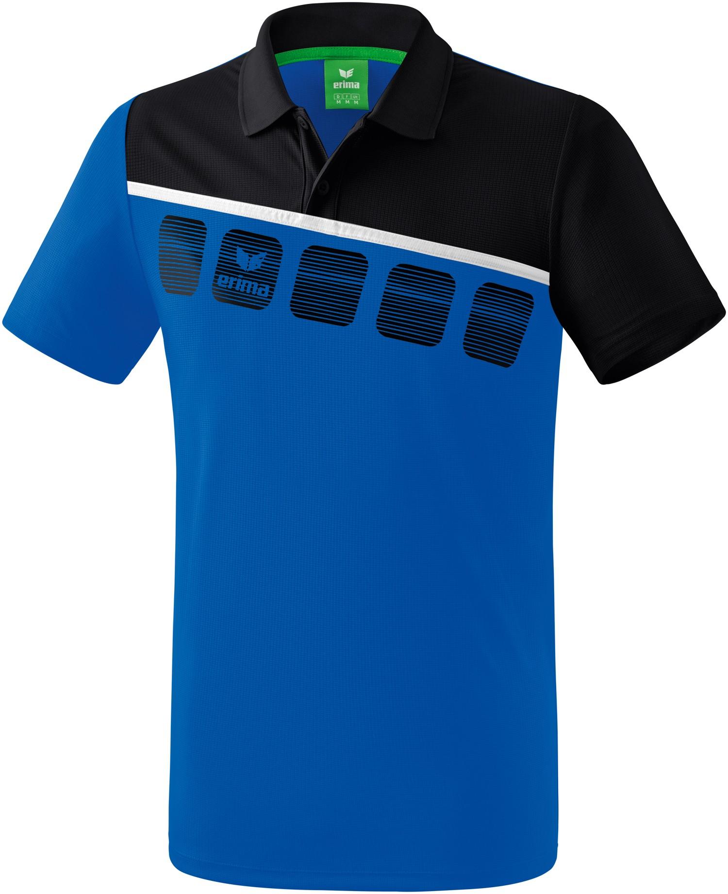 Erima 5-C Poloshirt Kinder, 128 Unisex 1111901