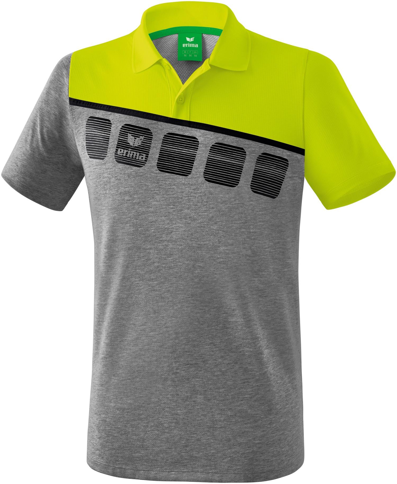 Erima 5-C Poloshirt Kinder, 152 Unisex 1111908