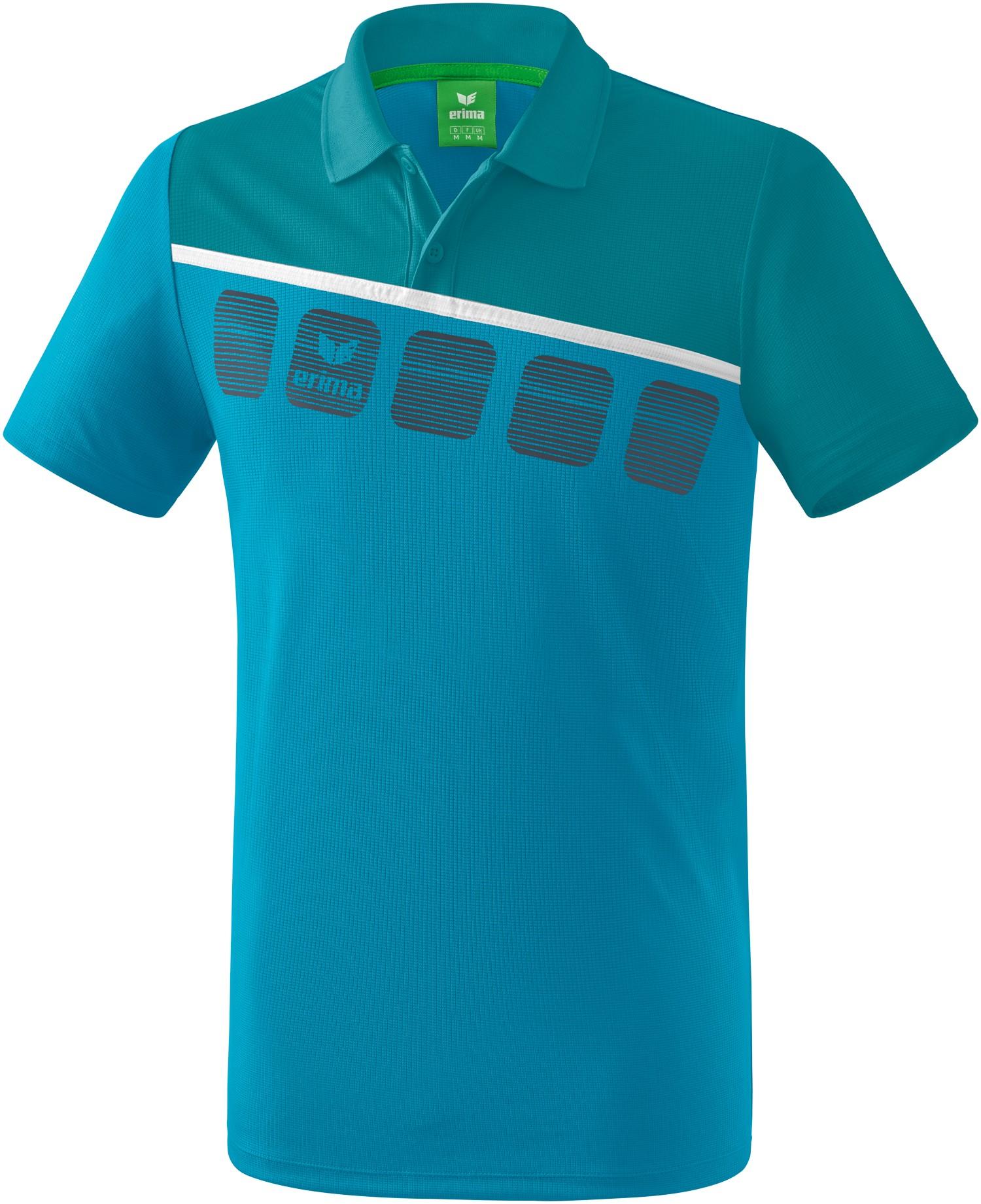 Erima 5-C Poloshirt Kinder, 164 Unisex 1111910