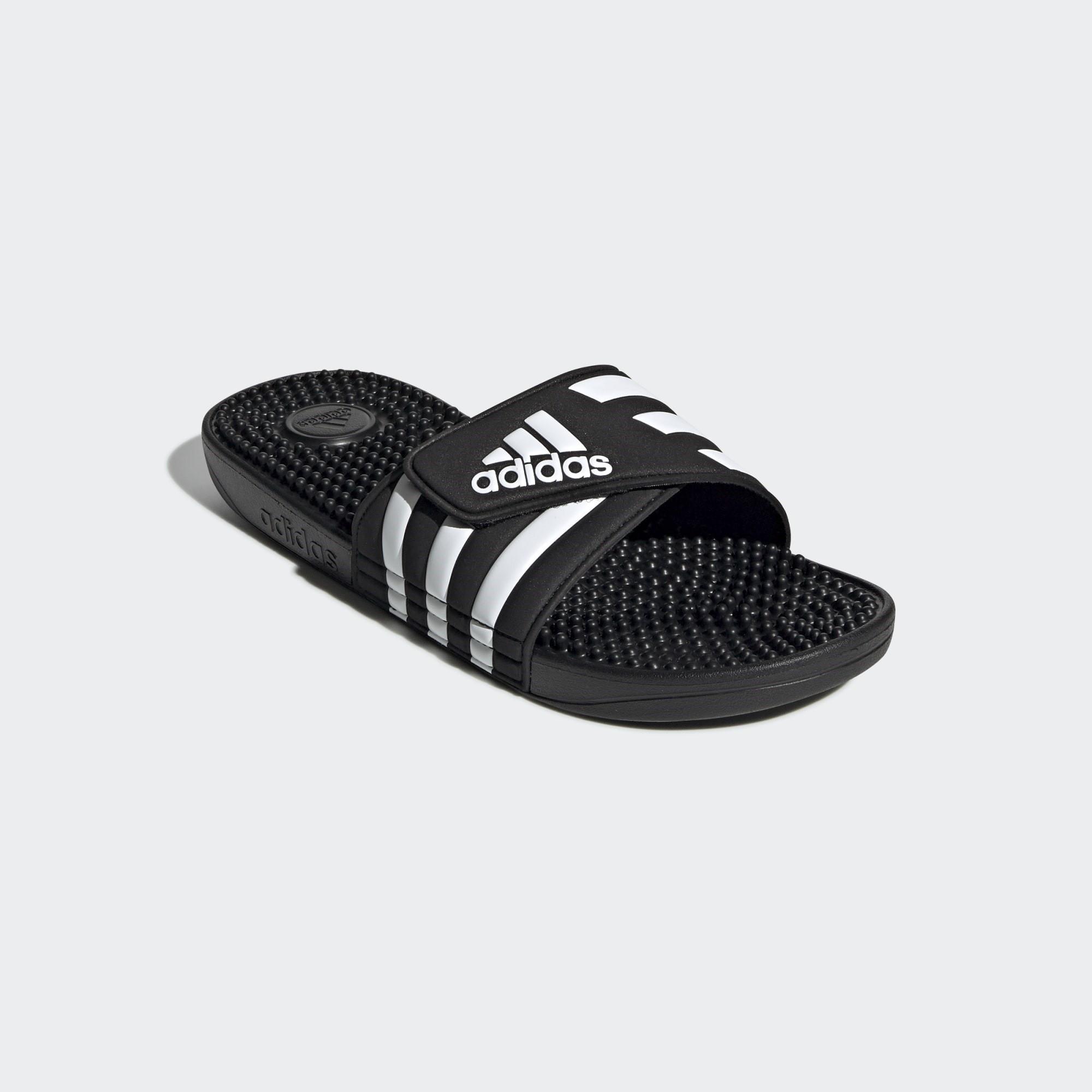 Adidas Adissage Badeschlappen, schwarz, 47 Unisex F35580